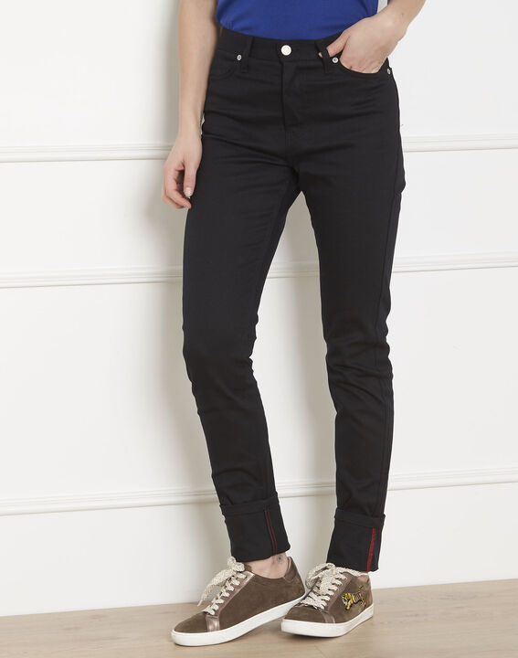 Cathy slim-fit black jeans PhotoZ | 1-2-3