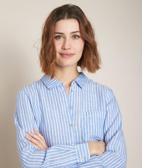 Venetia linen striped shirt PhotoZ | 1-2-3
