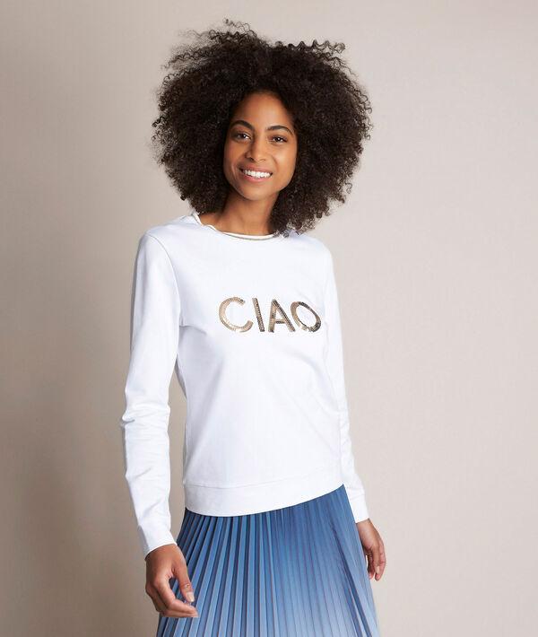 Relax embroidered sweatshirt PhotoZ | 1-2-3
