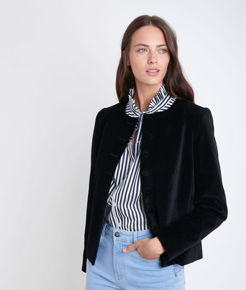 Tania velvet jacket PhotoZ | 1-2-3