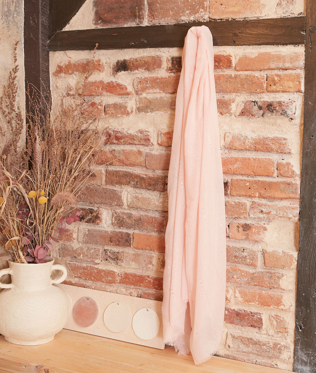 Carmen nude sequinned scarf PhotoZ | 1-2-3