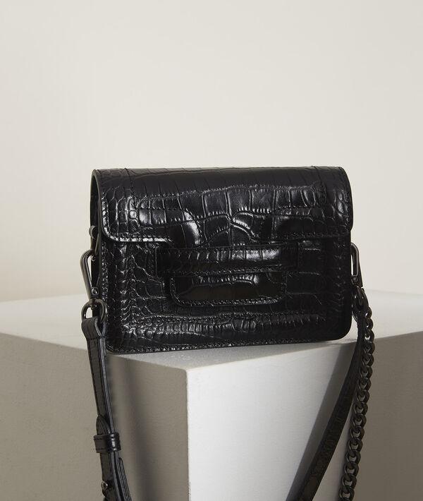 Mock croc leather 123 belt bag PhotoZ | 1-2-3