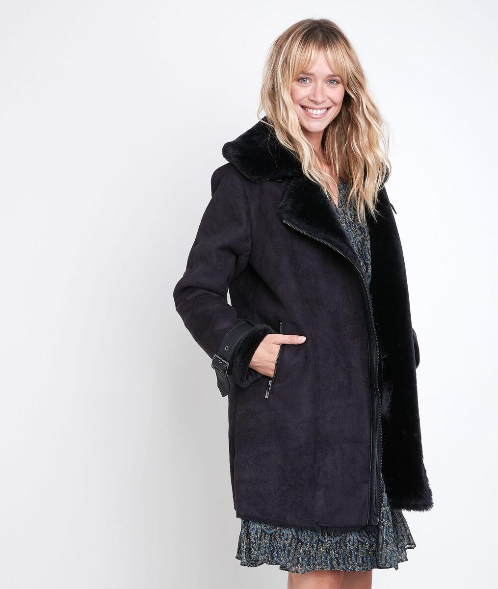 Ikara faux shearling coat PhotoZ | 1-2-3