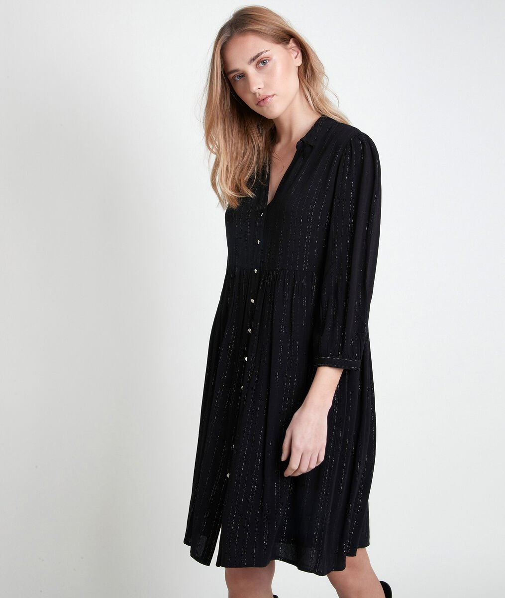 Lana lurex shirt dress PhotoZ | 1-2-3