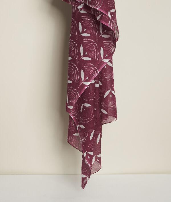 Capucine printed scarf PhotoZ | 1-2-3