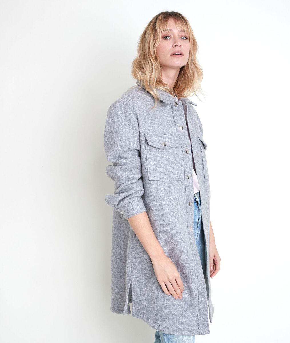 Jennifer patterned wool coat PhotoZ | 1-2-3