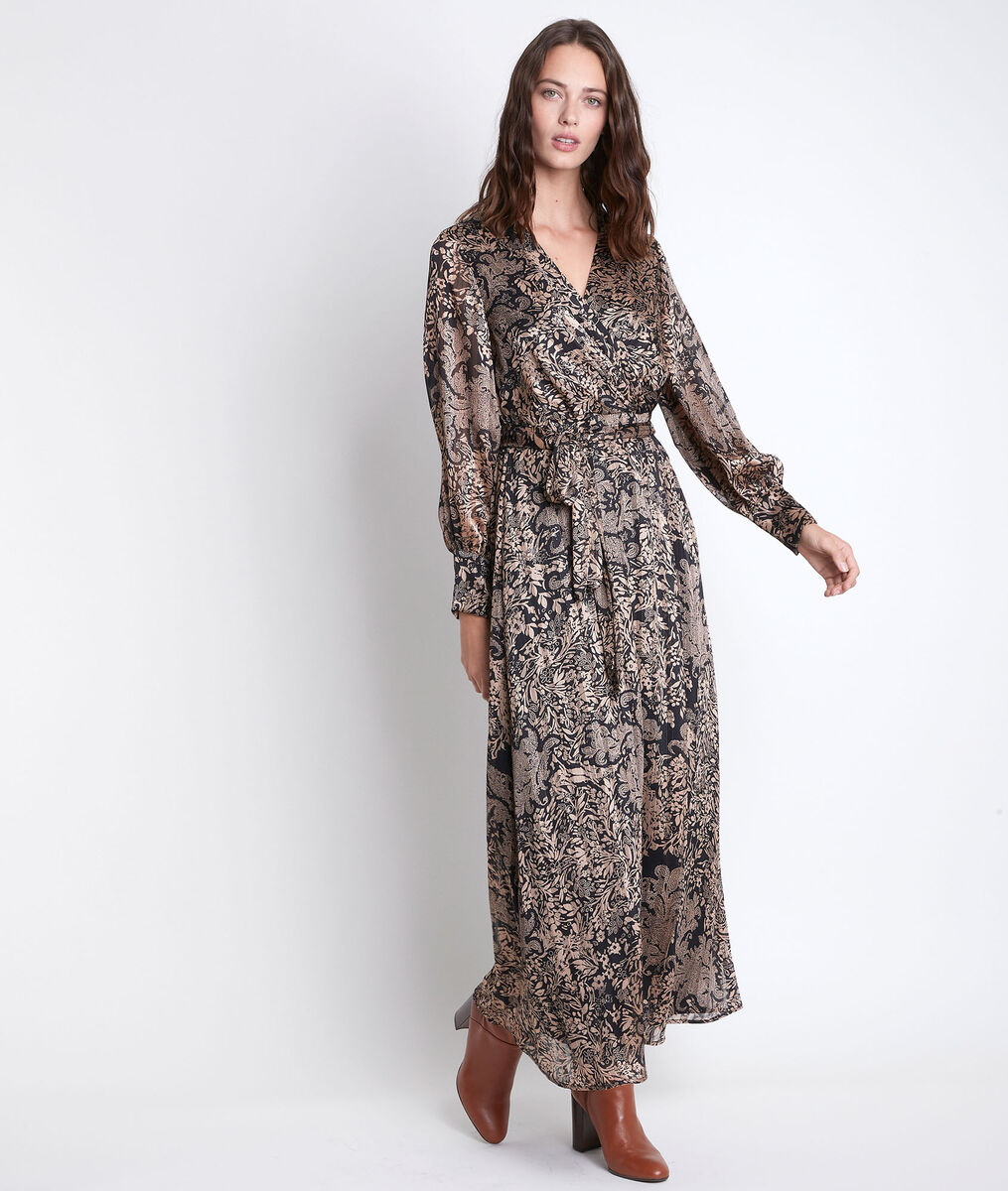 Cathel long printed dress PhotoZ | 1-2-3
