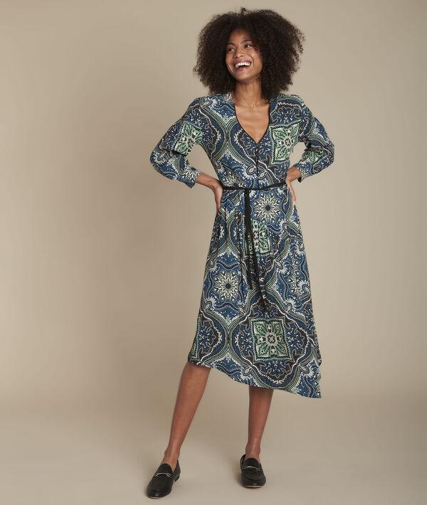 Ida paisley print dress PhotoZ   1-2-3