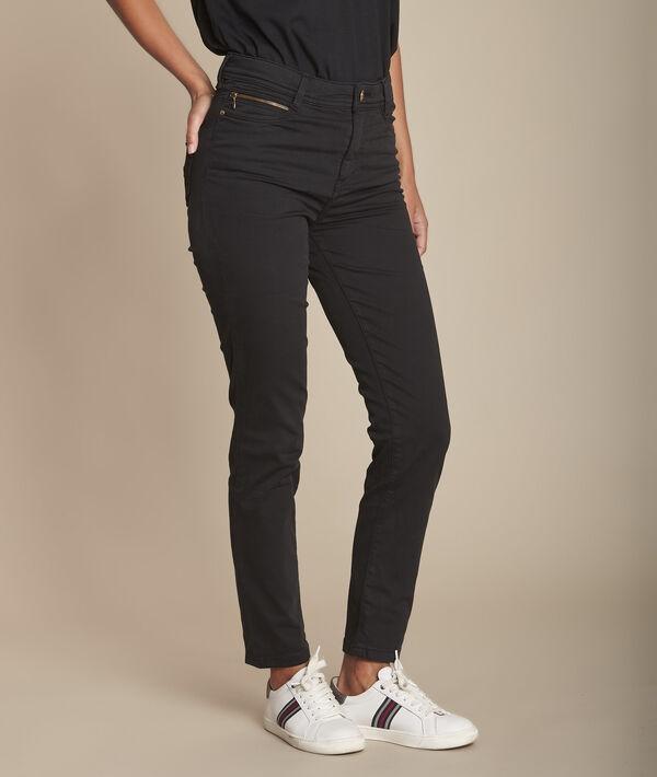 Sultan iconic black 7/8 slim jeans PhotoZ | 1-2-3