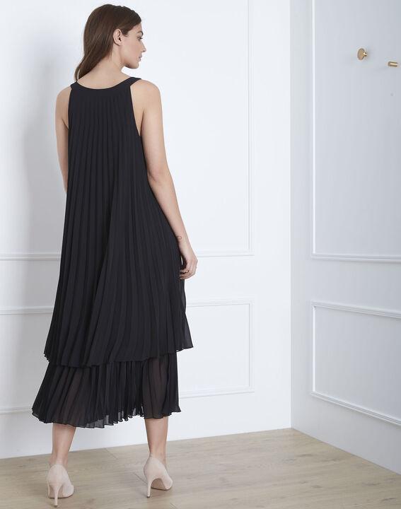 Nice black long pleated dress (4) - Maison 123