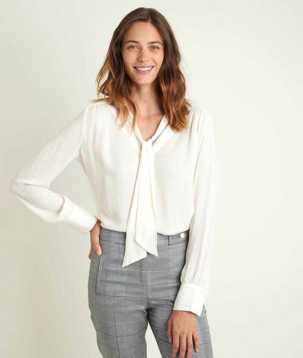 Josie Pussybow blouse PhotoZ   1-2-3