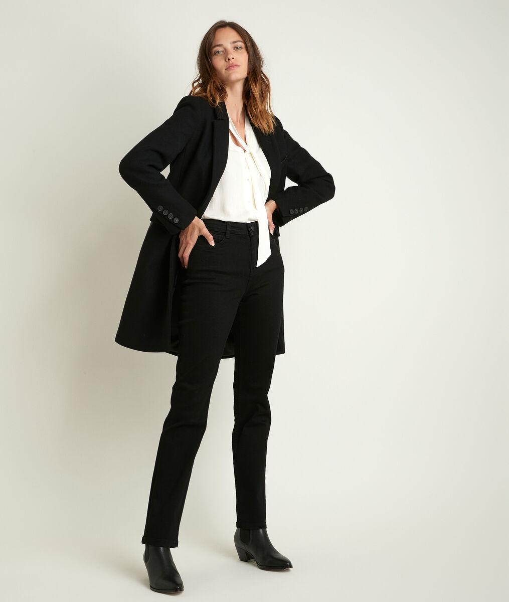 Plume bis 3/4-length wool coat PhotoZ | 1-2-3