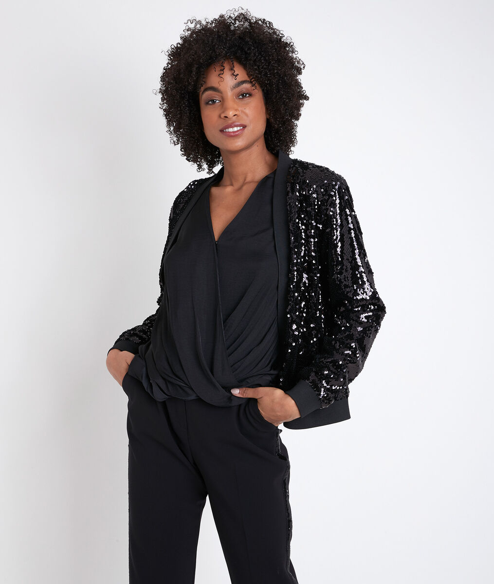 Tessa glitter jacket PhotoZ | 1-2-3