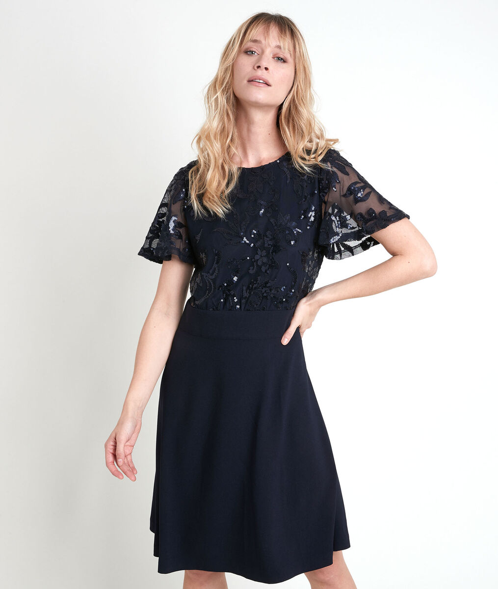 Constance fit and flare dress PhotoZ | 1-2-3
