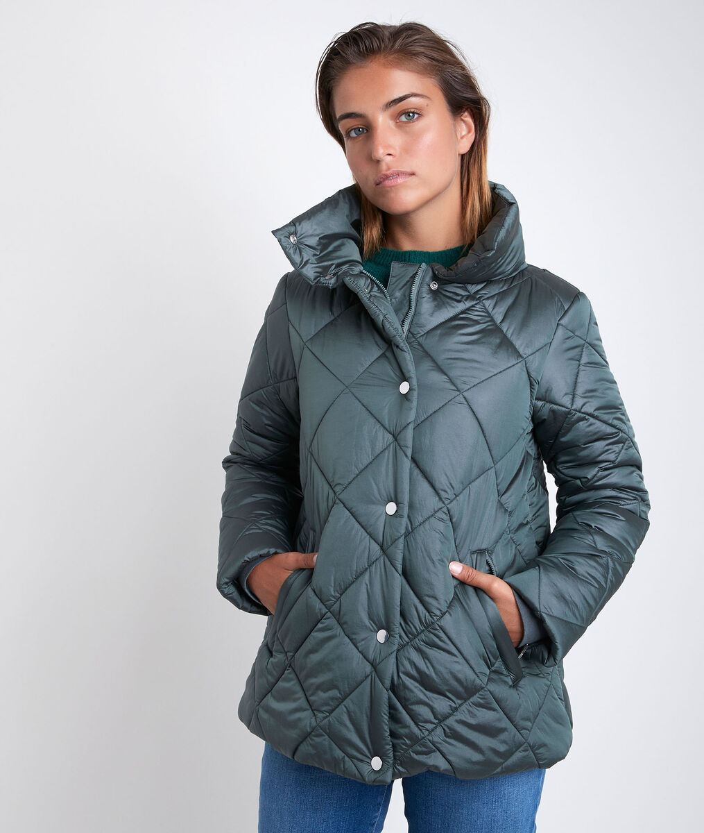 Bemi high neck short down jacket PhotoZ | 1-2-3