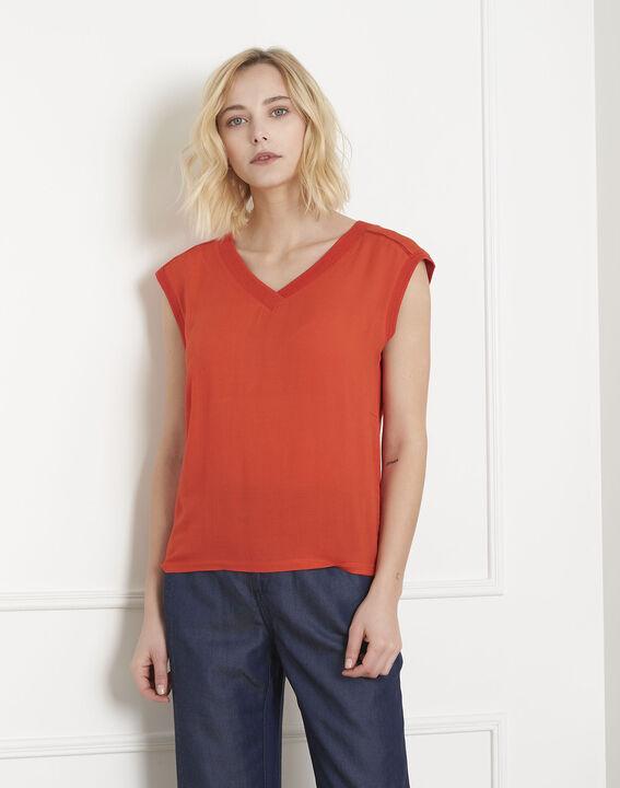 Vivace orange dual-material top PhotoZ | 1-2-3