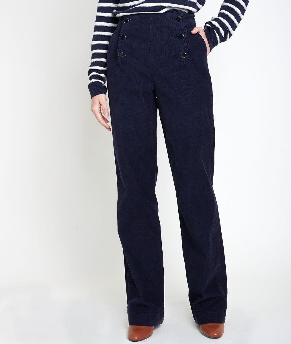 HUBERT corduroy sailor trousers PhotoZ | 1-2-3