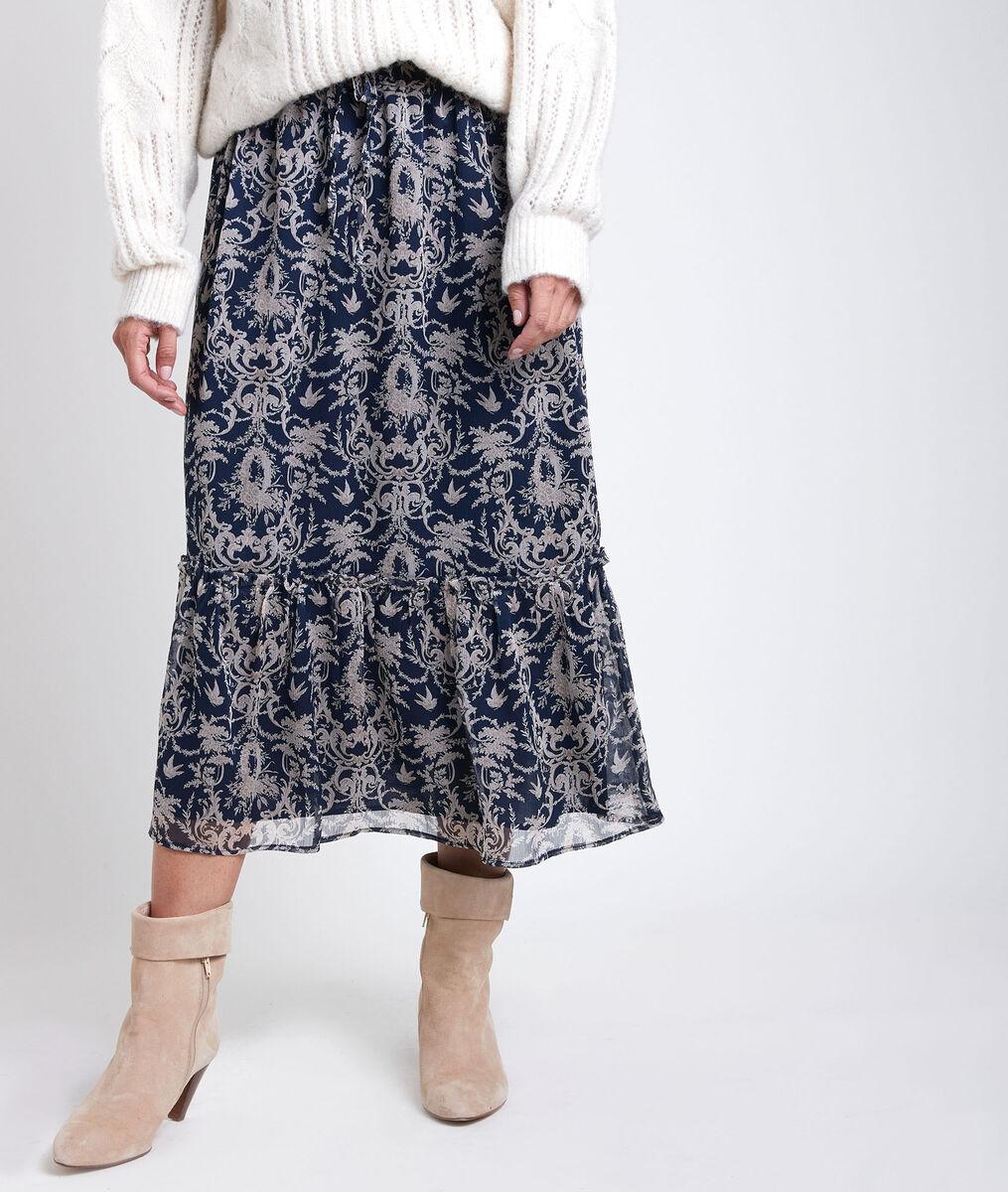 Gao printed maxi dress PhotoZ | 1-2-3