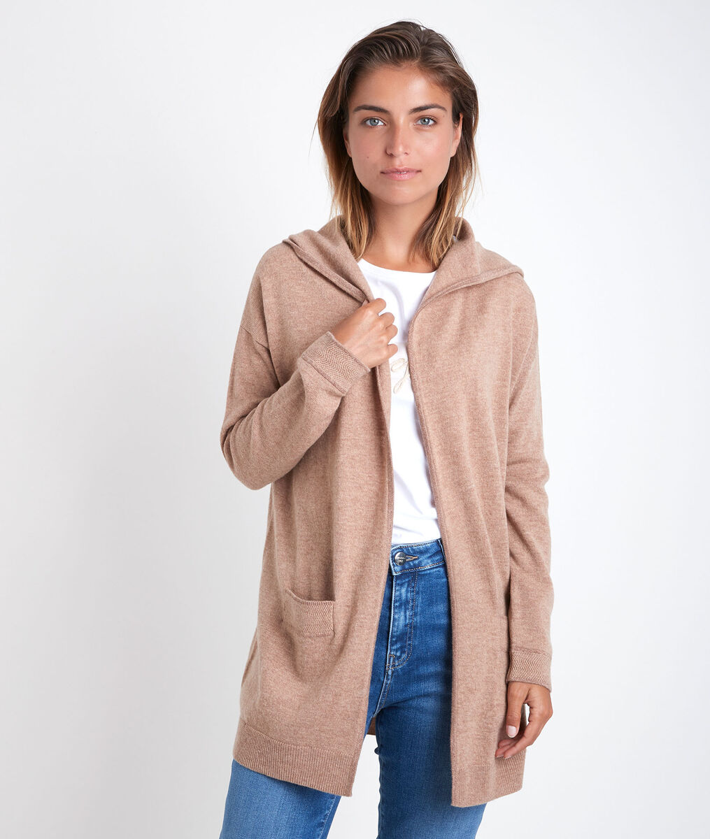 Ruth wool and cashmere cardigan PhotoZ | 1-2-3