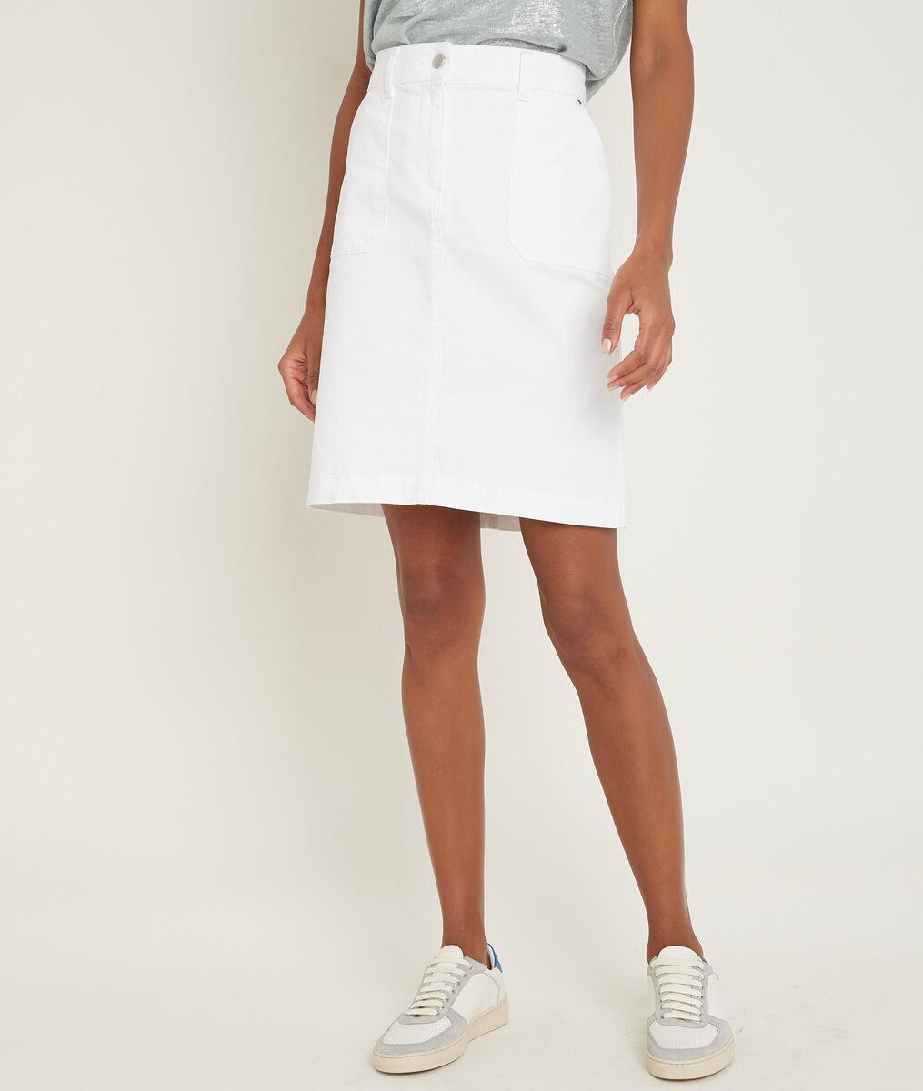 Balade washed cotton skirt PhotoZ | 1-2-3