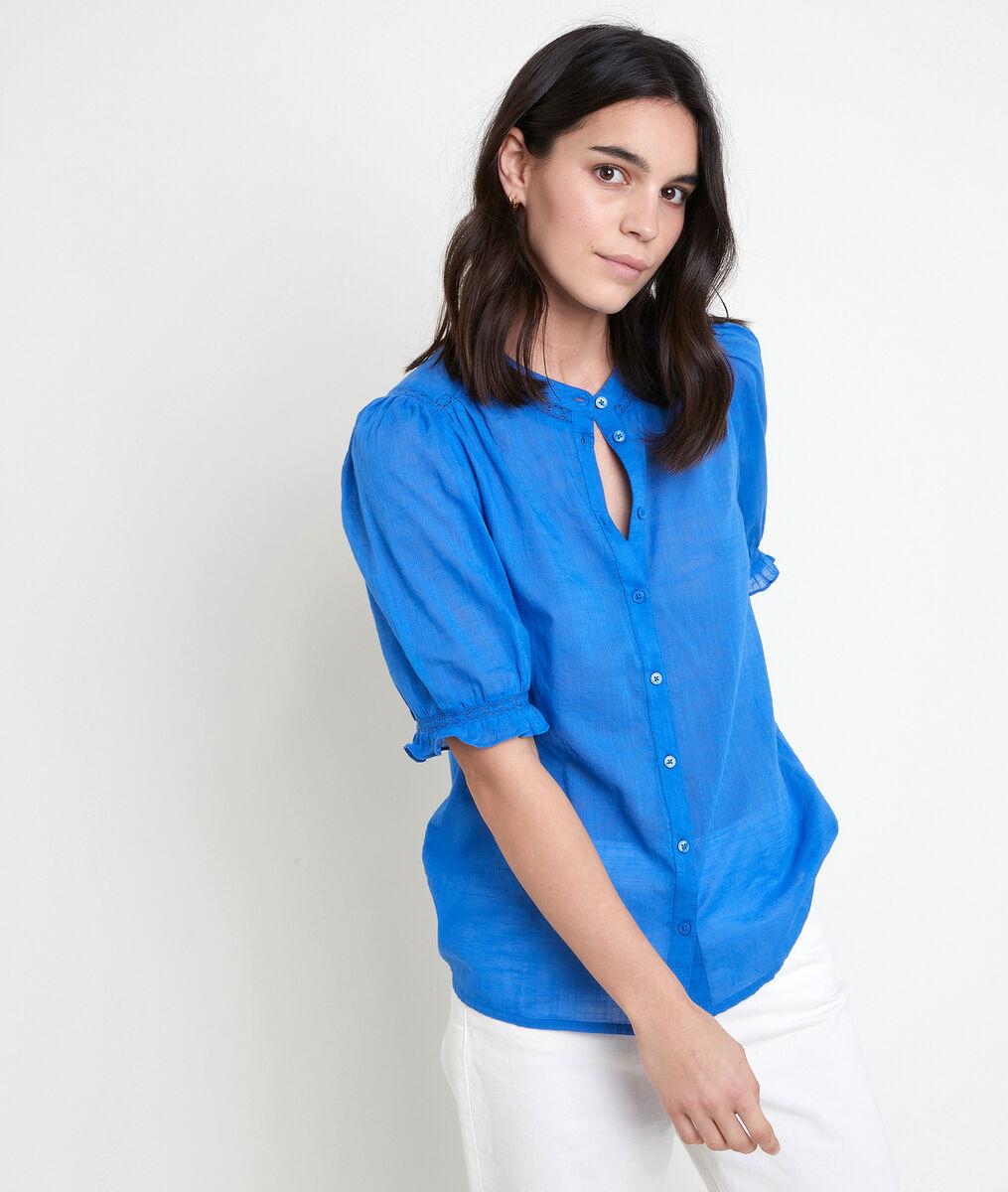 TAL cotton forget-me-not blouse PhotoZ | 1-2-3