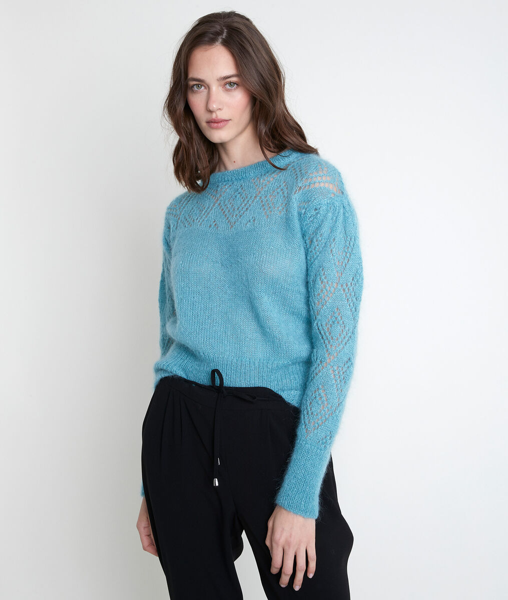 ALBERTA mohair blend jumper PhotoZ | 1-2-3