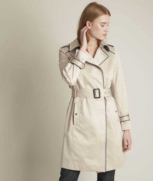 Frida braided beige trench coat PhotoZ | 1-2-3