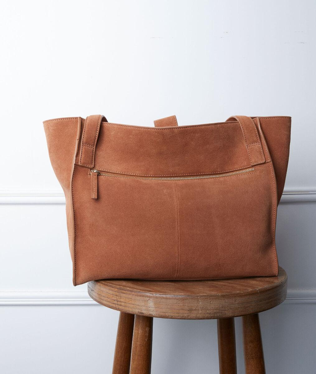 Djack camel-coloured tote bag PhotoZ | 1-2-3
