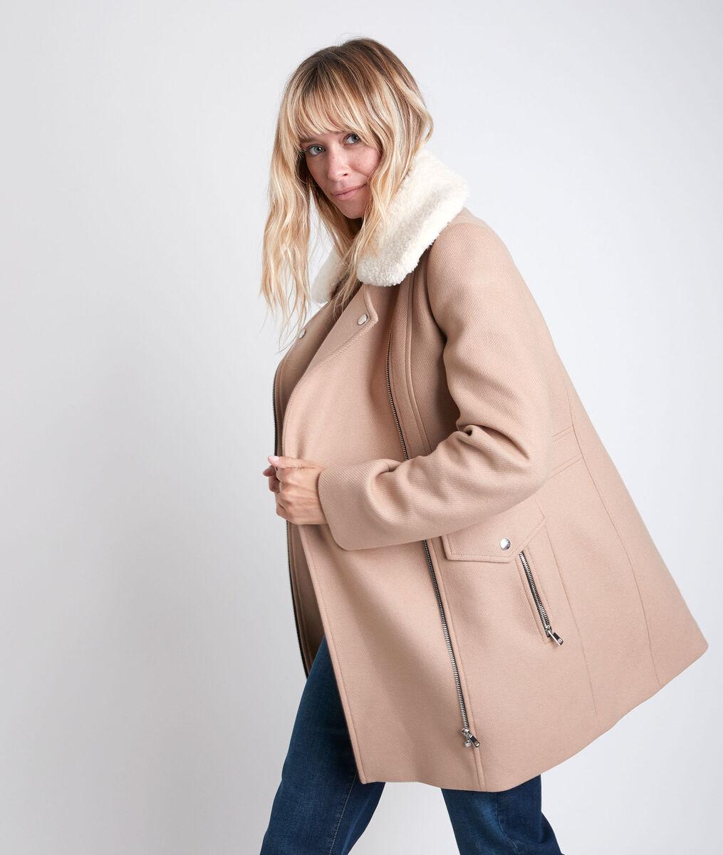 Oryane wool coat with hood PhotoZ | 1-2-3