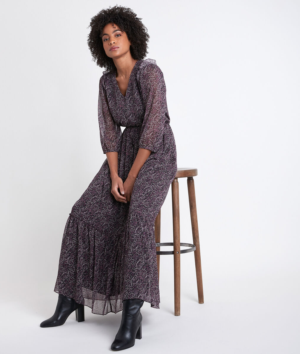 Claire printed maxi dress PhotoZ | 1-2-3