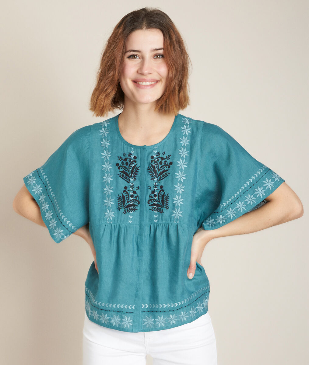 Ebira embroidered blouse PhotoZ | 1-2-3