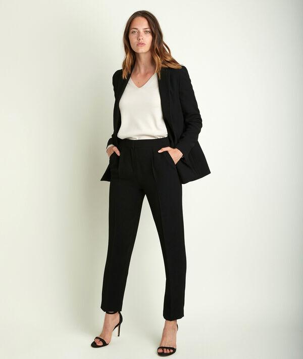 Isaure crêpe trousers PhotoZ   1-2-3