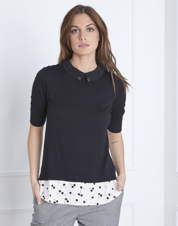 AS blouse collar for black sweater  (1) - Maison 123