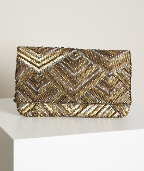 New ideal embroidered clutch PhotoZ | 1-2-3