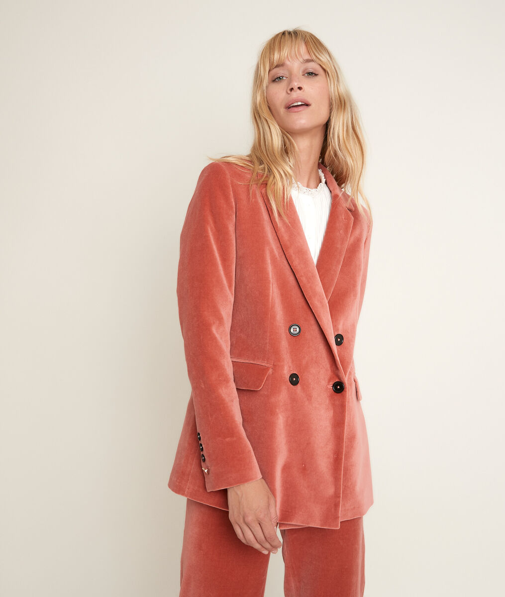 Tilleul velvet jacket PhotoZ | 1-2-3
