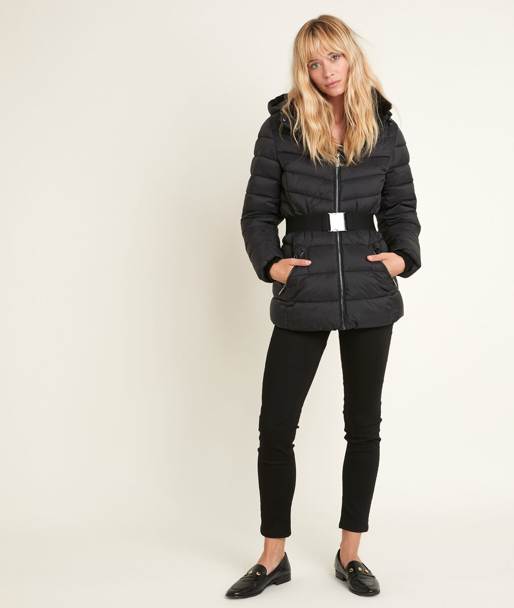 Bakori 3/4-length down jacket PhotoZ | 1-2-3