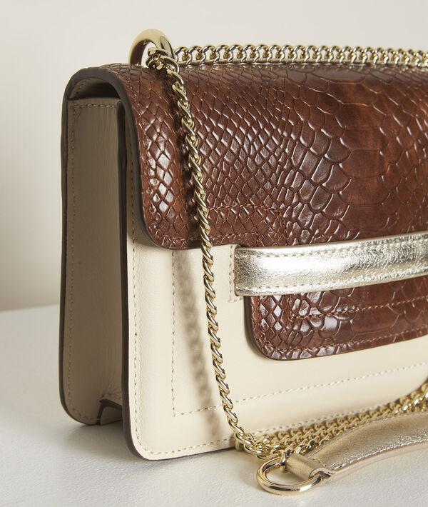 The mock croc leather mini 123 PhotoZ | 1-2-3