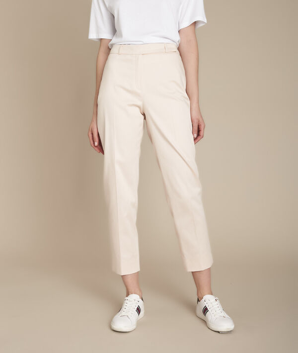 Rubis powder-coloured cigarette trousers PhotoZ   1-2-3