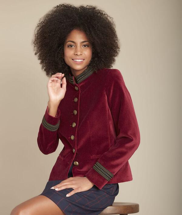 Bella velvet jacket PhotoZ | 1-2-3