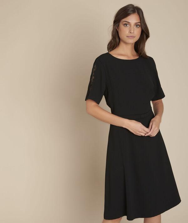 Belted, swishy dress Rose PhotoZ | 1-2-3