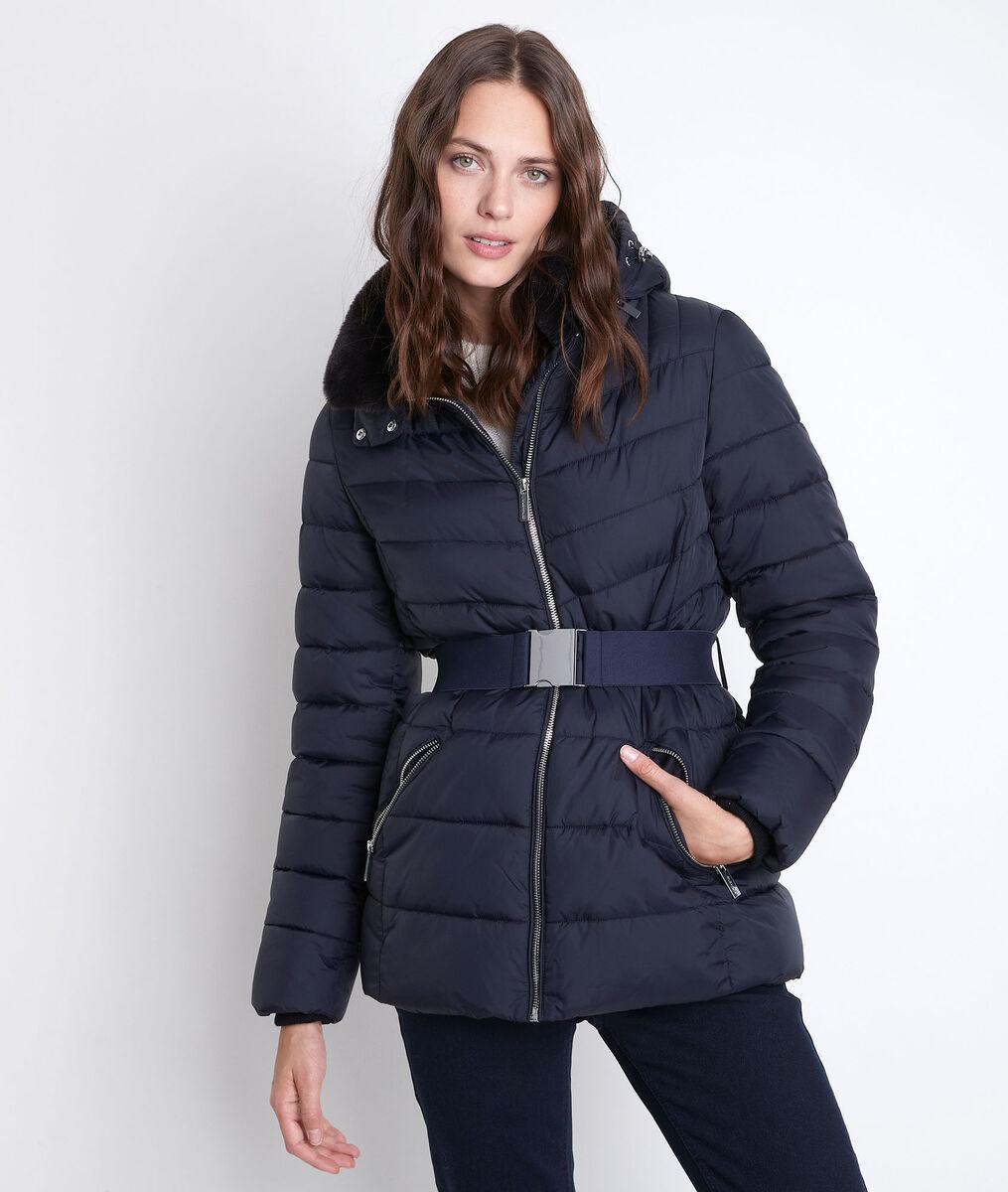 Bakori 3/4-length recycled polyamide down jacket PhotoZ   1-2-3
