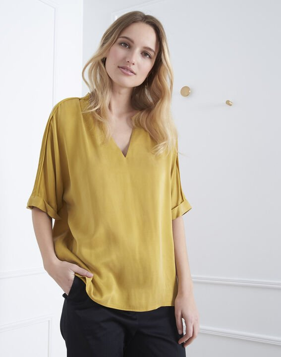 Venise bronze fluid-cut top (1) - Maison 123