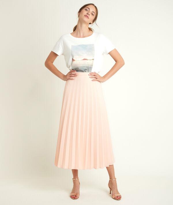 Gema pleated maxi skirt PhotoZ   1-2-3