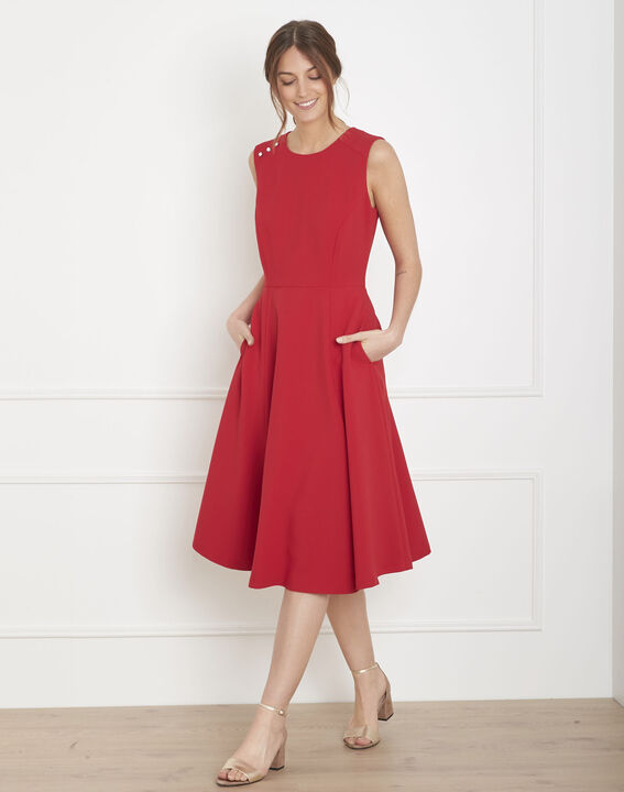 Hacena red dance dress (2) - Maison 123