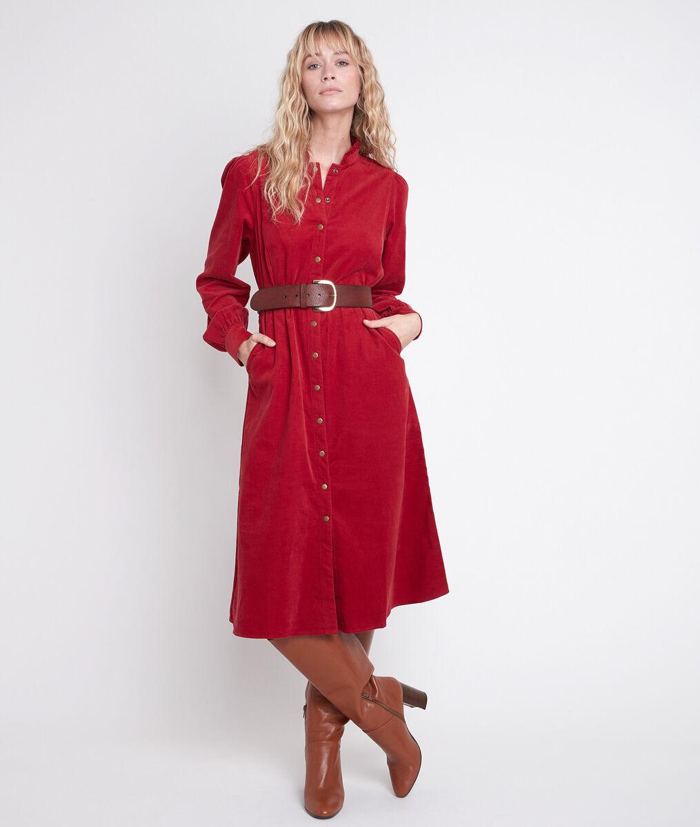 LAURA red velvet dress PhotoZ | 1-2-3
