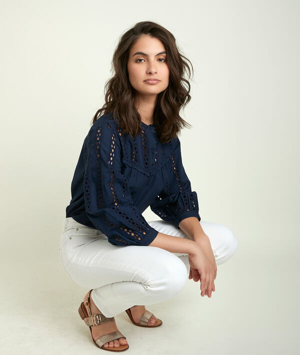 Enola lace blouse PhotoZ   1-2-3