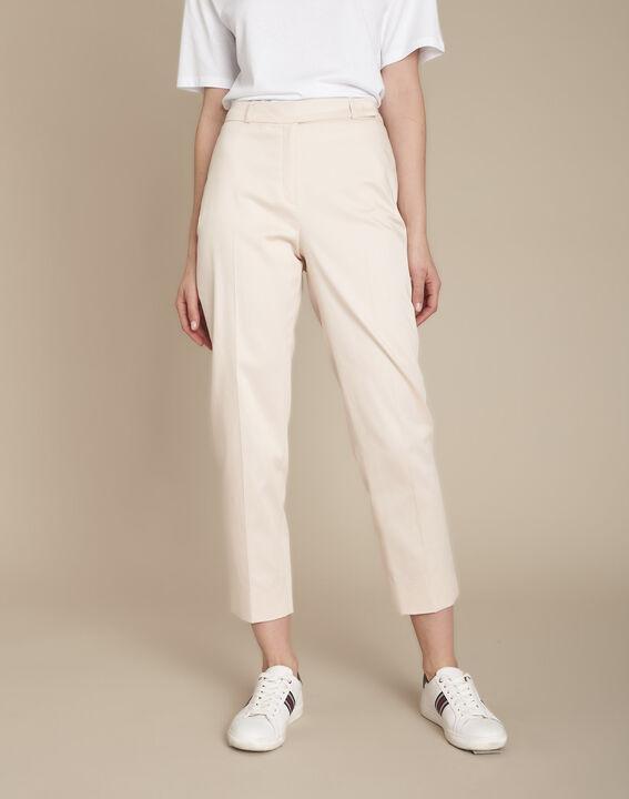 Rubis powder-coloured cigarette trousers (1) - Maison 123