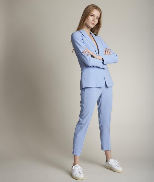 Lavande sky blue microfibre jacket PhotoZ | 1-2-3