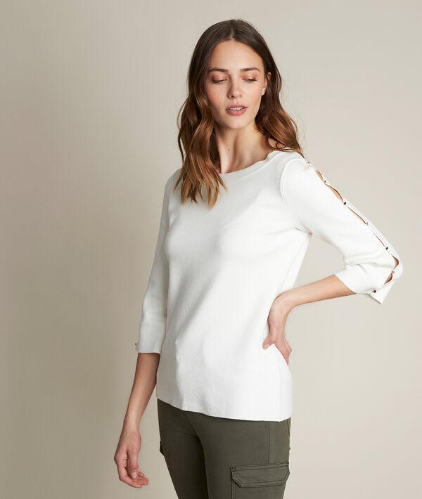 Darwin ecru pullover PhotoZ | 1-2-3