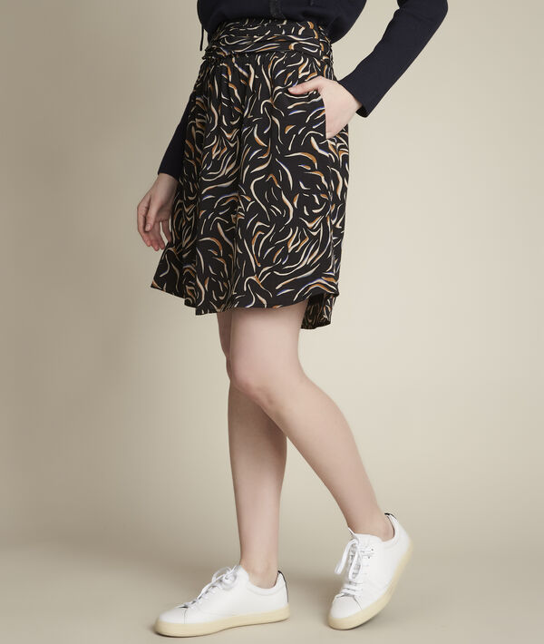 Bahia short printed skirt PhotoZ | 1-2-3